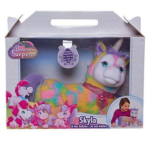 Exclusive Toys R Us Unicorn Surprise Stuffed Figure Skyla Unicorn Surprise Toys Unicorn