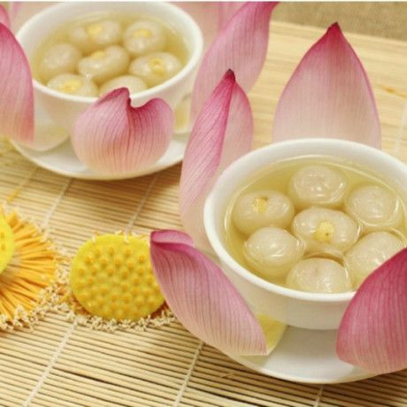 Vietnamese recipes – Longan Fruit Sweet Soup – Che Sen Long Nhan