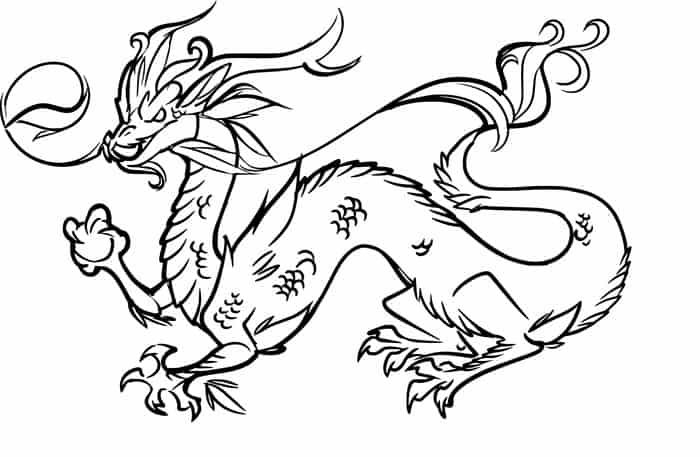 Chinese New Years Dragon Coloring Pages Dragon Coloring Page Easy Dragon Drawings Dragon Pictures