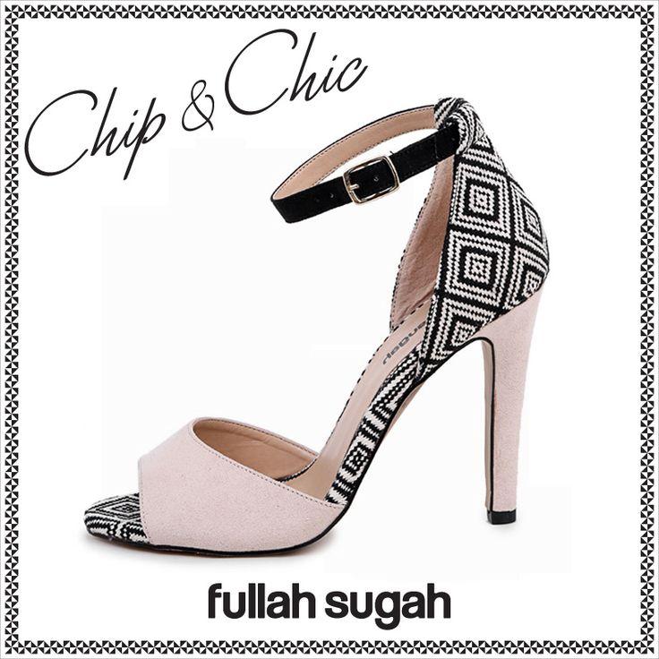 FullahSugah   Aztec ψηλοτάκουνο πέδιλο   14451003 #fullahsugah #fullah_sugah #SS2014 #fashion #shopping #summer_mood #shoes #women_fashion #summer_trends