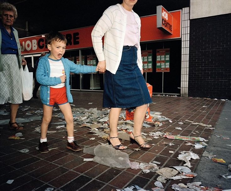 Photography Martin Parr. Liverpool, Merseyside, 1985. Unseen photos from Martin Parr's archive in Dazed spring