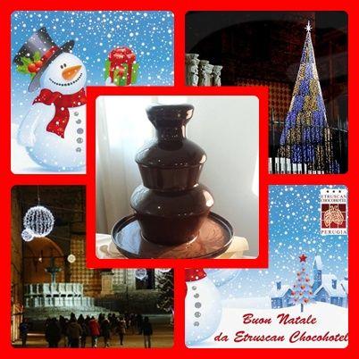 #Natale @Etruscan Chocohotel!