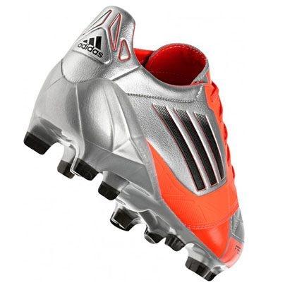 Nuevas Adidas F50 Adizero de Leo Messi. Consíguelas aquí: http://www.futbolmanianet.com/futbol/V21435/botas-de-futbol-adidas-f50-adizero-trx-fg-rojo-plata?orden==1