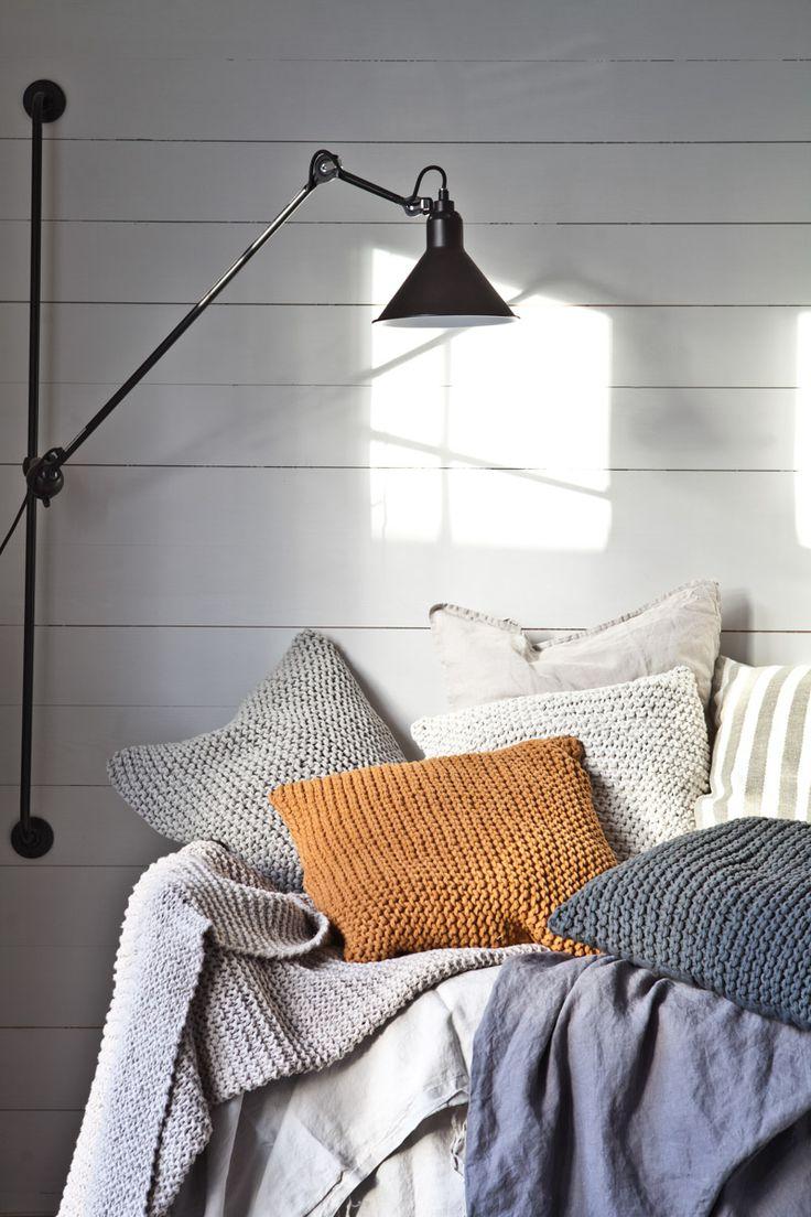 Tell Me More | Kuddfodral Rope Light Grey 50/50 | Matilde & Co | Handla online