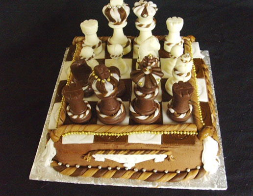 Chocolate Chess Cake