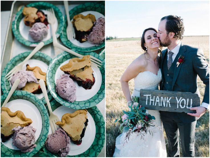Cathy + Andrew // Saskatoon Farm Wedding