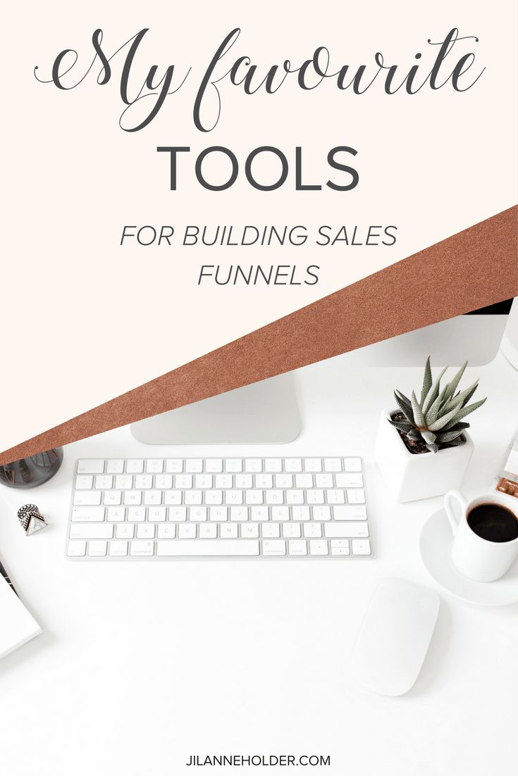 My favourite tools for building Sales Funnels1