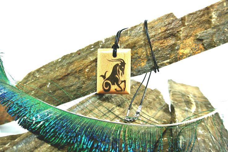 aries zodiac,wooden neclace zodiac,neclace,jewelry,pendant,aries zodiac,aries,aries wooden zodiac, gift, - €6.00 EUR