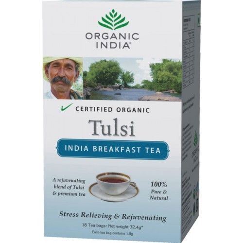 Organic India Tulsi India Breakfast 18 Tea Bag Buy Online at Best Price in India: BigChemist.com