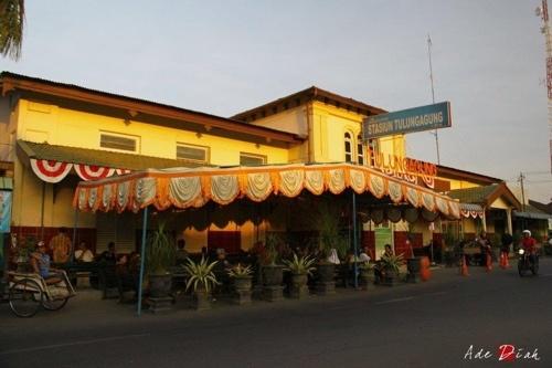 Train Station, Tulungagung, East Java, Indonesia