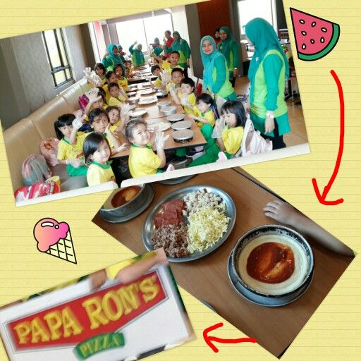 Fun Learning Outside ... *with paparonz pizza*