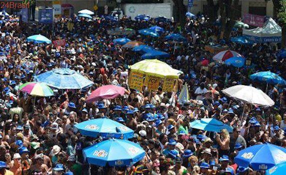 Último dia de folia: Monobloco fecha Carnaval do Rio com 400 mil foliões