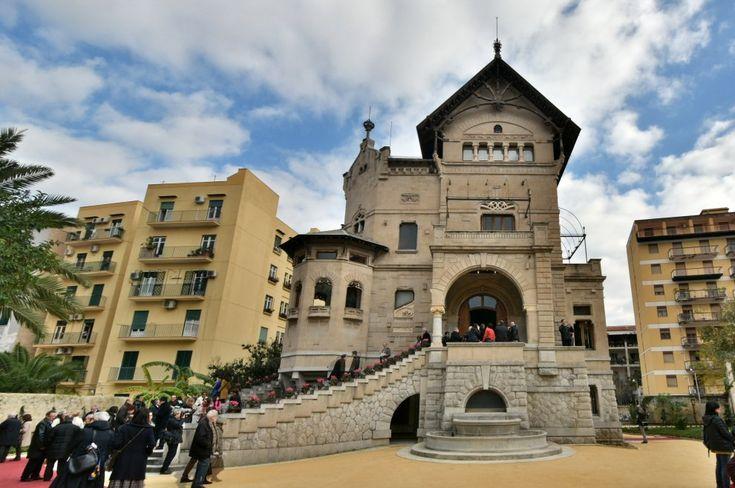 Palermo, finiti i restauri, rinasce Villino Florio simbolo della bella époque