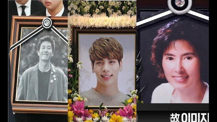 "5 Korean Celebrities That Passed Away In 2017   Let's say ""It's not true"""