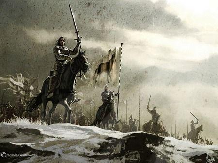 the king rises
