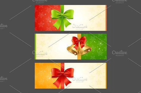 Present Card Template. Vector. Objects. $5.00