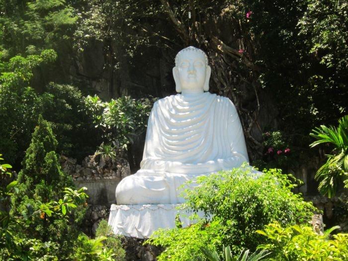 Buddha on Marble Mountain, Vietnam