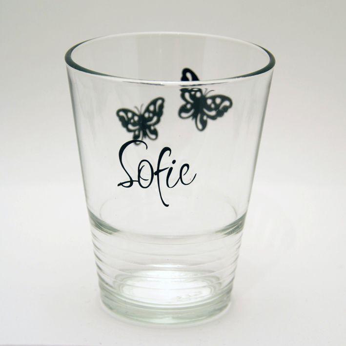 Personlige melkeglass. Flott gave. Se mer på kreativthus.no