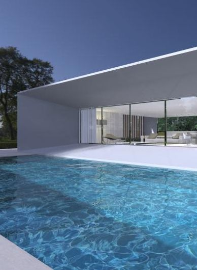 Private House project by Interior architect Filip Deslee #pool