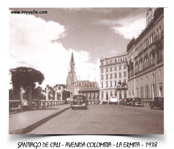 La Ermita y La Avenida colombia - Santiago de Cali