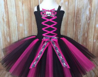 Monster High Birthday Tutu Outfit-Monster High by TulledDreamers