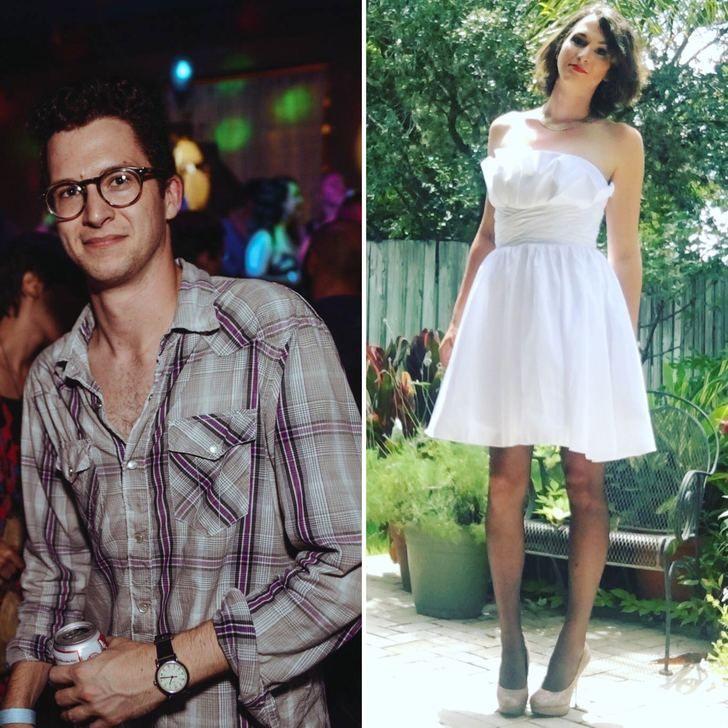 1 year out fulltime hrt 1 year apart transgender