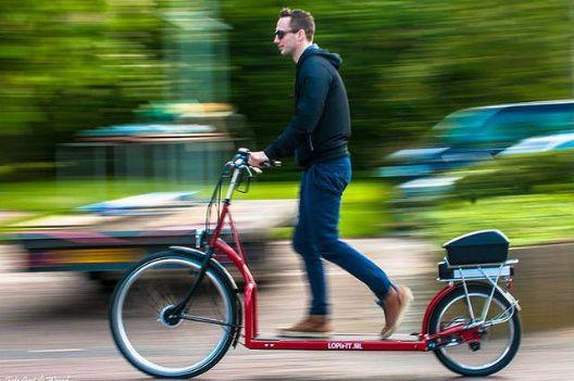 Vida-EcoVerde : Lopifit: Una bicicleta que avanza mientras caminas...