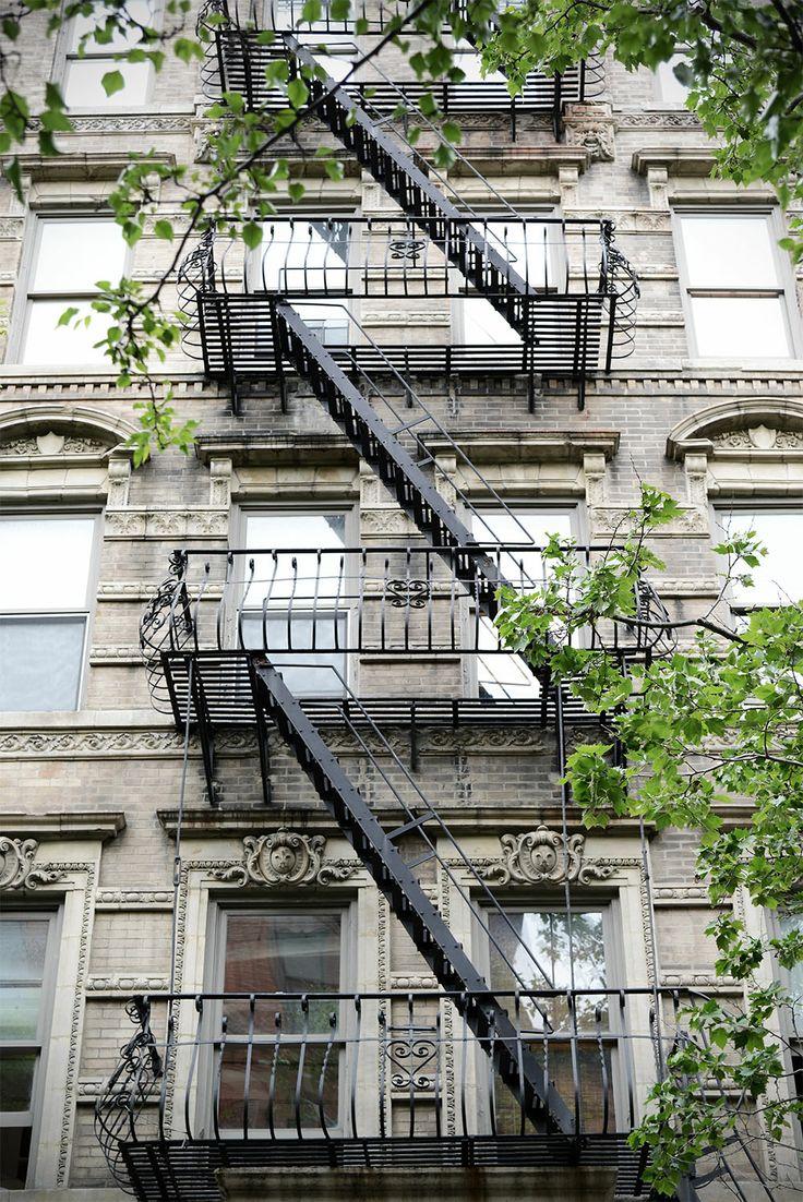 Beautiful West Village fire escape… #NewYork