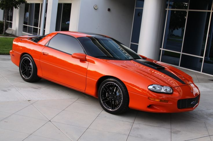 2002 Hugger Orange Camaro SS hardtop | Chevrolet Camaro ...