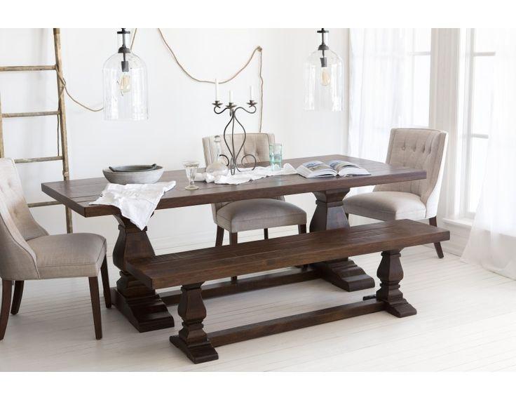 CASTLE - Table de salle à manger - Noyer