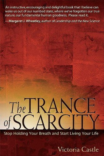 The Trance of Scarcity: Stop Holding Your Breath and Start Living Your Life by Victoria Castle http://www.amazon.com/dp/B005M0D0FK/ref=cm_sw_r_pi_dp_e36Wwb1E9CWKW