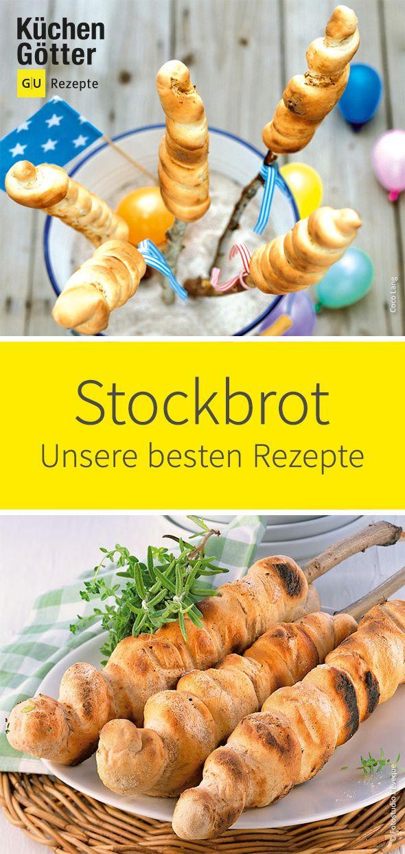 Griller #Stockbrot est populaire non seulement dans les camps d'été. Le classique de l'enfance …   – Brot & Co