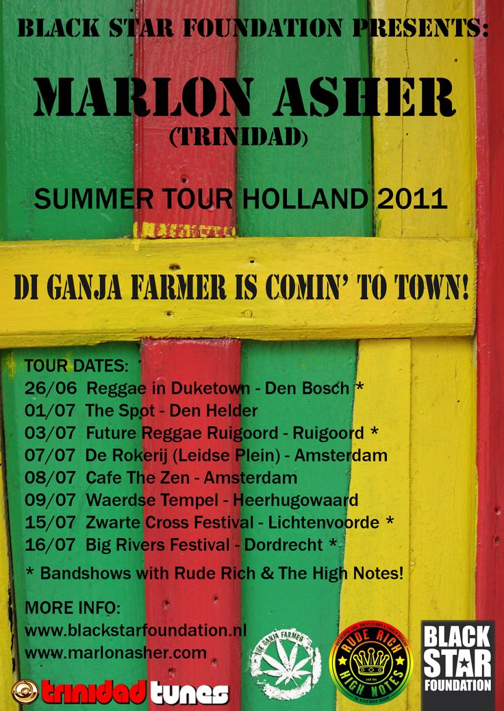 Marlon Asher tour 2011