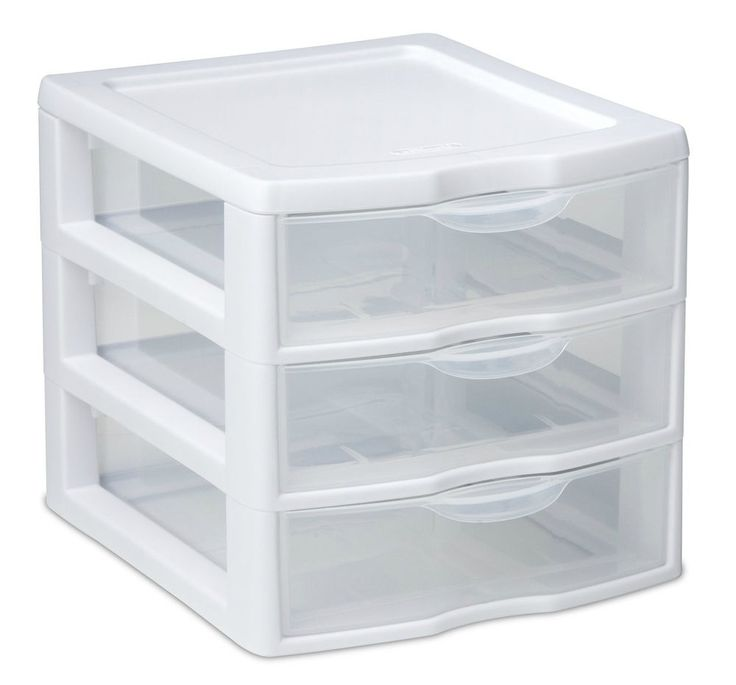 Little Plastic Storage Drawers