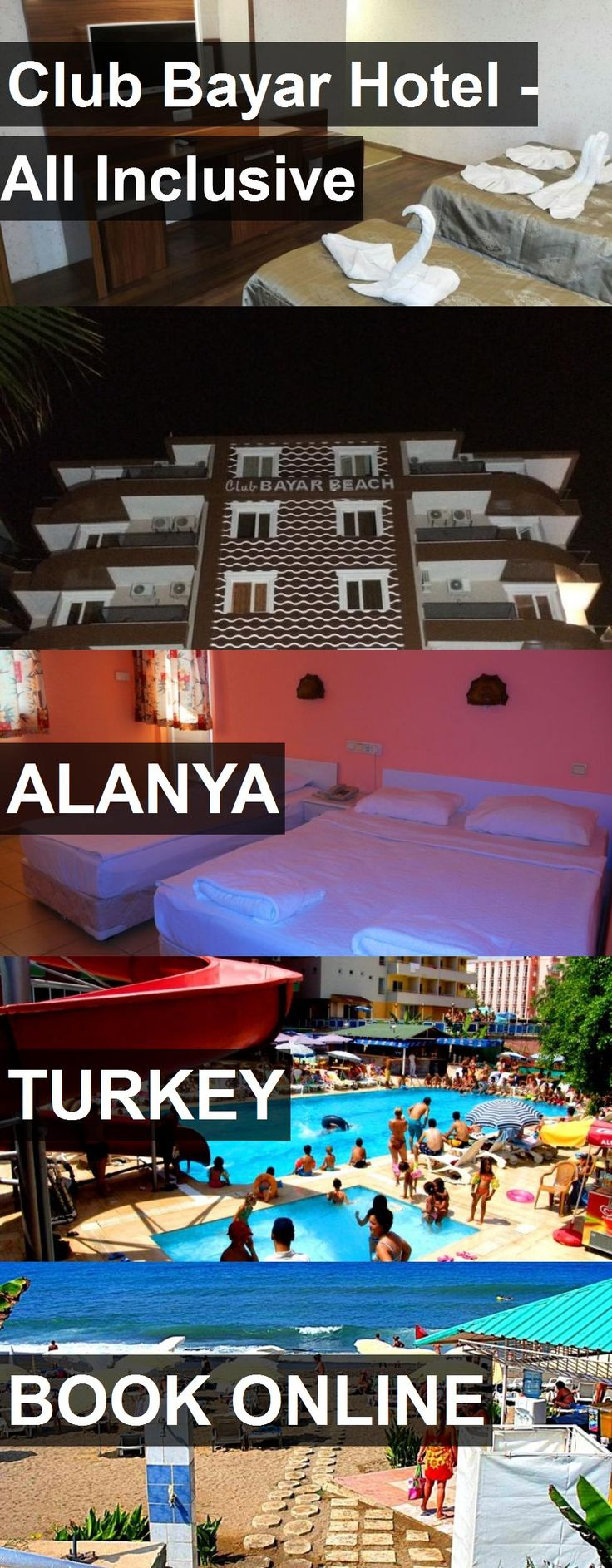 Hotel Club Bayar Hotel - All Inclusive in Alanya, Turkey. For more information, photos, reviews and best prices please follow the link. #Turkey #Alanya #hotel #travel #vacation