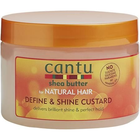 Product Review-Hair: Cantu Shea Butter Define & Shine Custard & Hair Moisturizing Curl Cream Activator