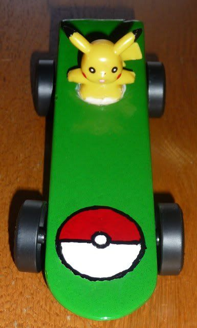 pikaCHu pinewood derby cars - Google Search