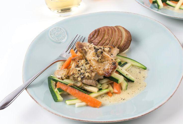 Why not match tonight's tarragon chicken with a sweet gewurztraminer and be whisked off to Strasbourg in France for the evening...