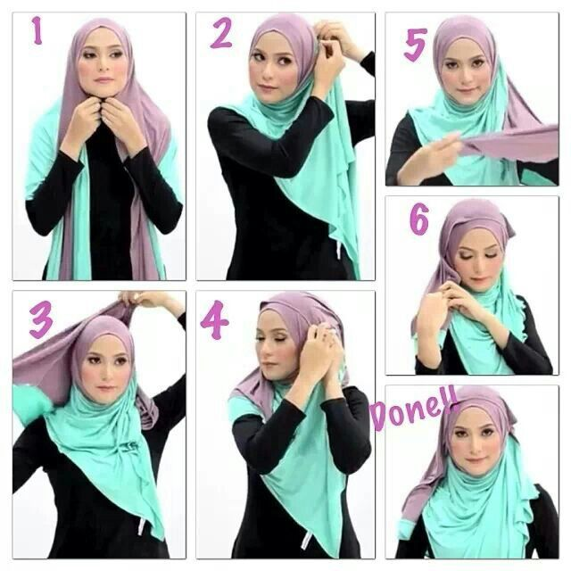 Kreasi Model Hijab Terbaru