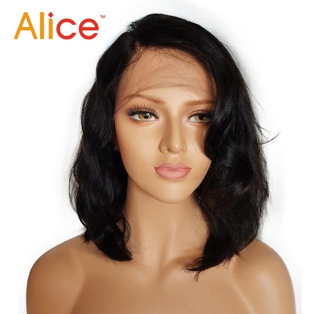 Short Full Lace Human Hair Wigs Brazilian Full Lace Front Wigs Human Hair With Baby Hair Glueless Full Lace Wigs For Black Women