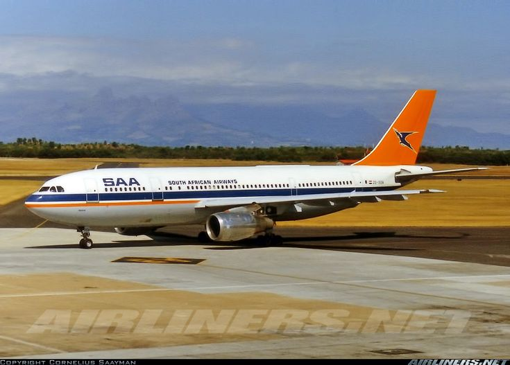 South African Airways ZS-SDA Airbus A300B2K-3C aircraft picture