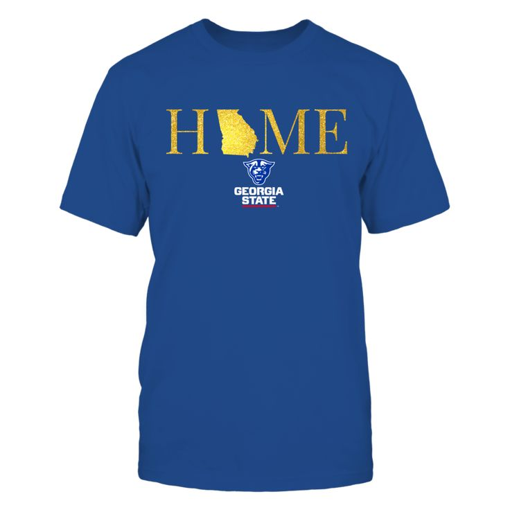 Georgia Home in Glittering Gold - Georgia  T-Shirt, Georgia State Panthers Official Apparel  Available for a Limited Time Only. NOT AVAILABLE IN STORES.  Guaranteed safe checkout: PAYPAL | VISA | MASTERCARD | AMEX | DISCOVER  Click BUY IT NOW To Order Yours!  AVAILABLE PRODUCTS Gildan Unisex T-Shirt - $24.95