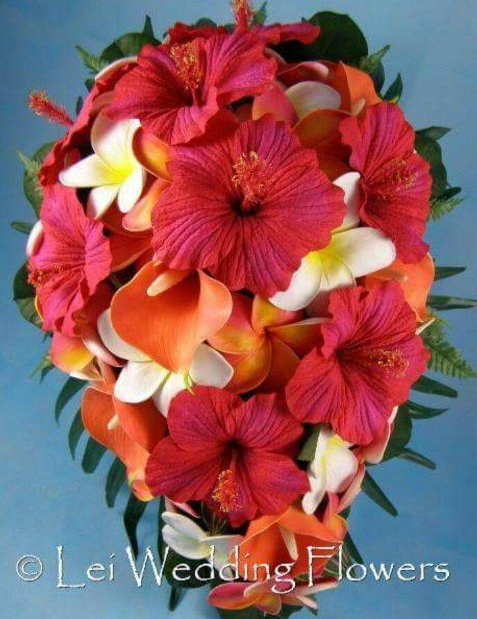 Polynesian Wedding Bouquet                                                                                                                                                                                 More