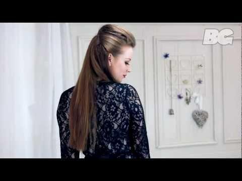 Red Carpet Quiff Hair Tutorial inspired by the lovely Kim Kardashian