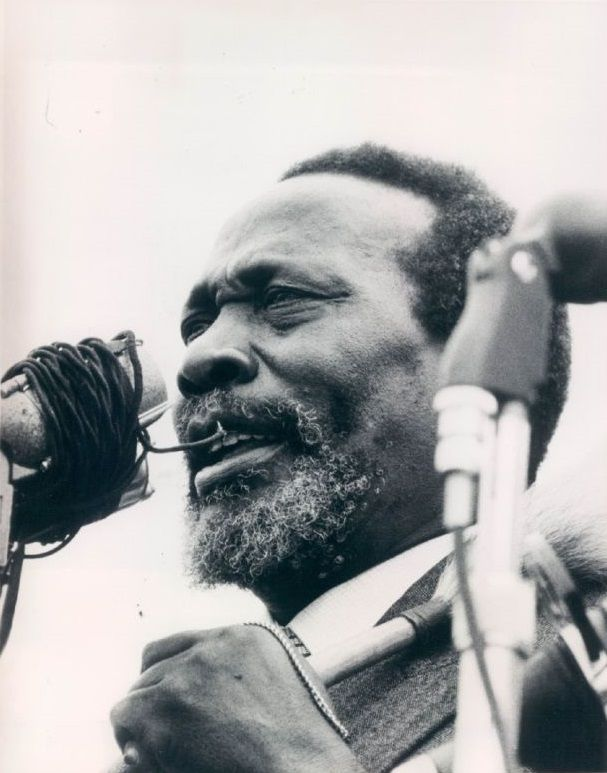 Mzee Jomo Kenyatta 1961 Harambee!!!