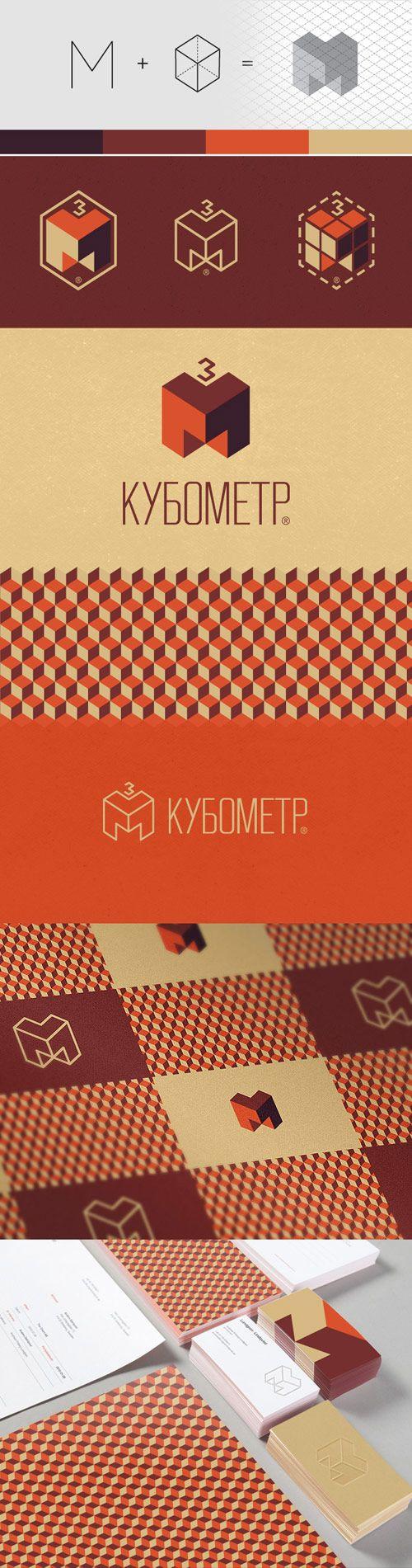 06 cubicmeter in Inspiring Examples of Branding & Corporate Identity Design - Graphic Design