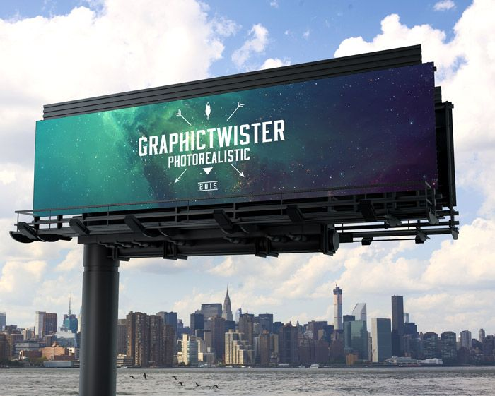 Billboard Mockup vol.2 | Premium and Free PSD Resources