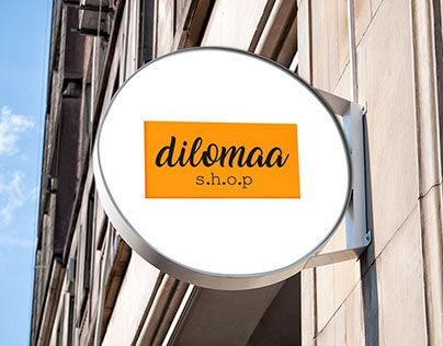 """Check out new work on my @Behance portfolio: """"Logo Dilomaa Shop"""" http://be.net/gallery/48146083/Logo-Dilomaa-Shop"""