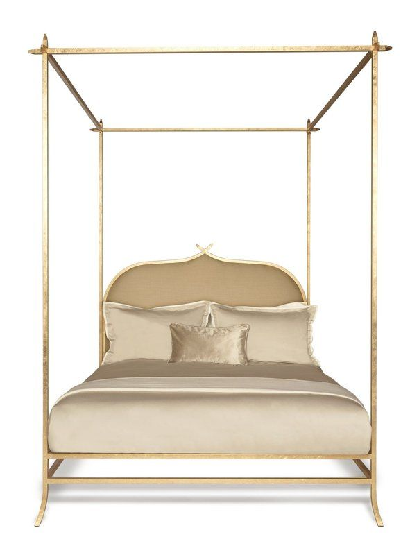 Casablanca Upholstered Canopy Bed Bed King Beds Bed Furniture
