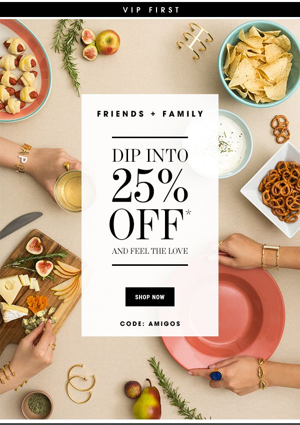 BaubleBar: VIP First: Enjoy 25% Off For Friends & Family | Milled